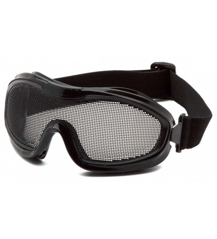 Mesh Goggles With ANSI Z87.1 Certified Elastic Band Synergy Supplies - 1