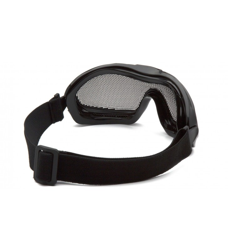 Mesh Goggles With ANSI Z87.1 Certified Elastic Band Synergy Supplies - 2
