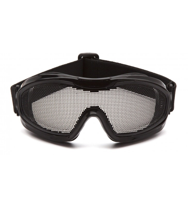 Mesh Goggles With ANSI Z87.1 Certified Elastic Band Synergy Supplies - 3