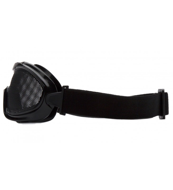 Mesh Goggles With ANSI Z87.1 Certified Elastic Band Synergy Supplies - 4