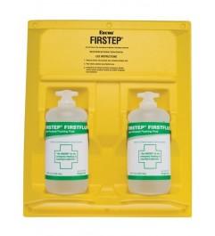 32 Ounce Portable Eyewash Station Double Bottle Encon Encon - 1