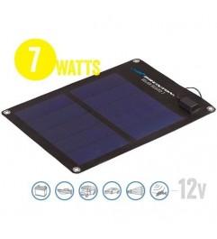 Semi Flexible Solar Panel Solar Board 7 Watt, 12V Brunton - 1