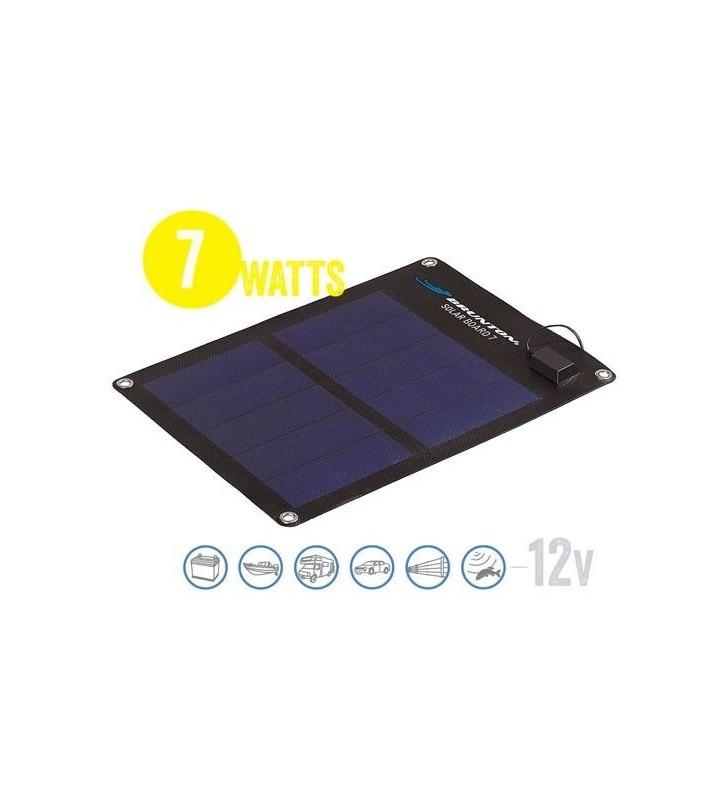 Panel Solar Semi Flexible Solar Board 7 Watt, 12V Brunton - 1