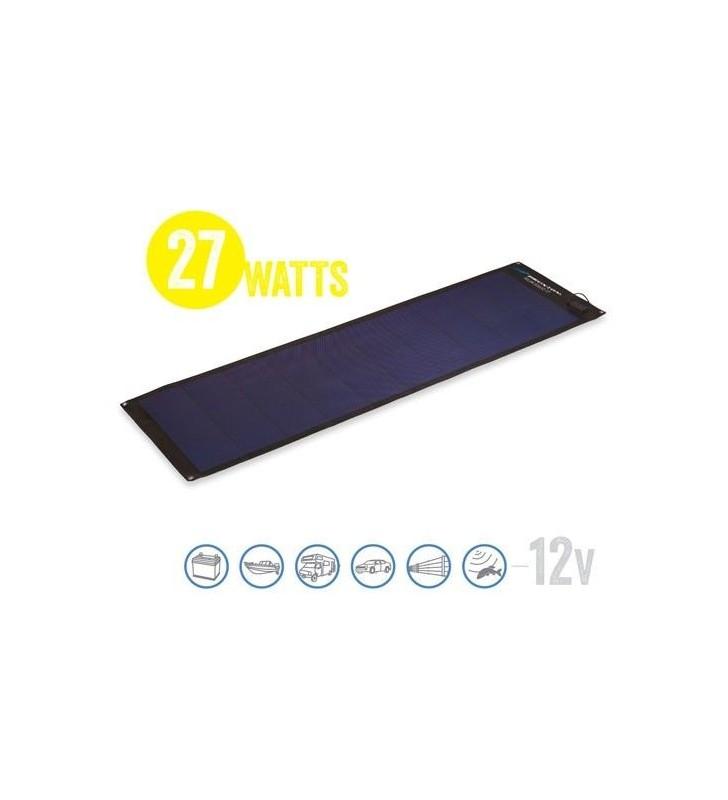 Semi Flexible Solar Panel Solar Board 27 Watt, 12V Brunton - 1