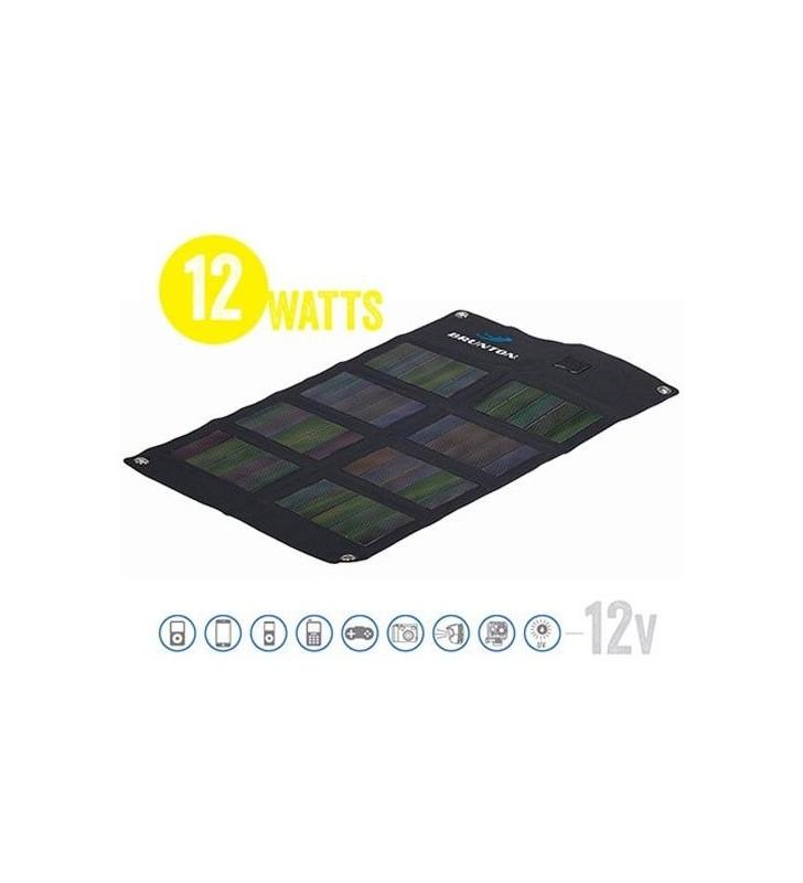 Solaris 12 Watt 12V Foldable Solar Matrix Solar Panel Brunton - 1