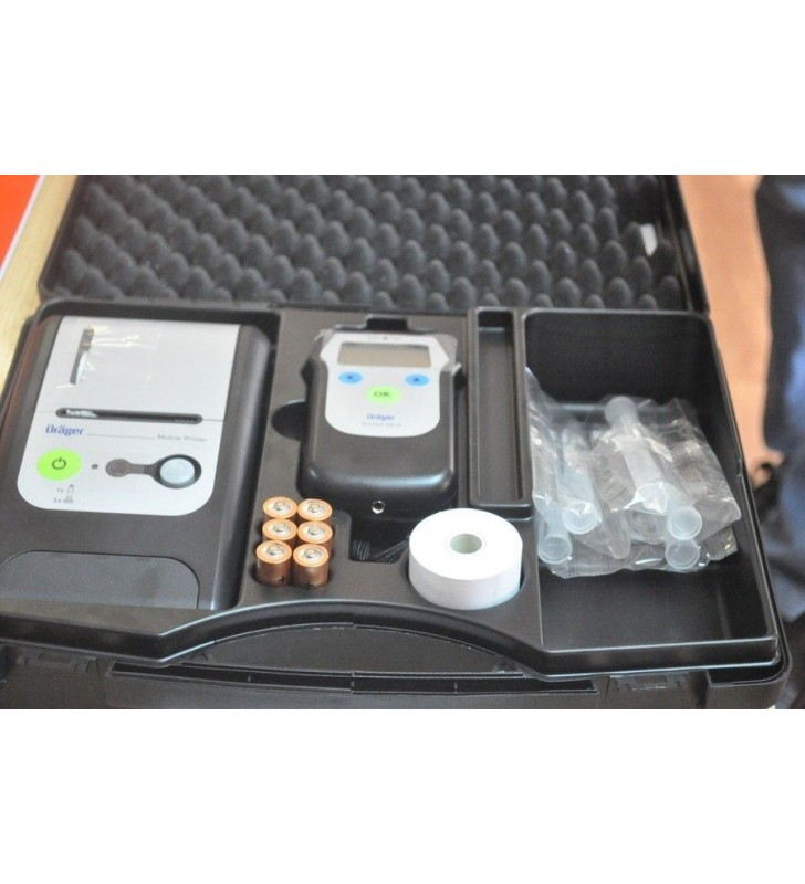 Drager 6810 Breathalyzer With Printer Drager - 3