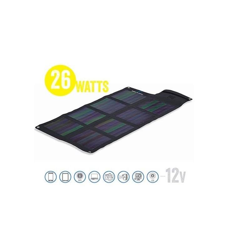 Solaris 26 Watt 12V Foldable Solar Matrix Solar Panel Brunton - 1