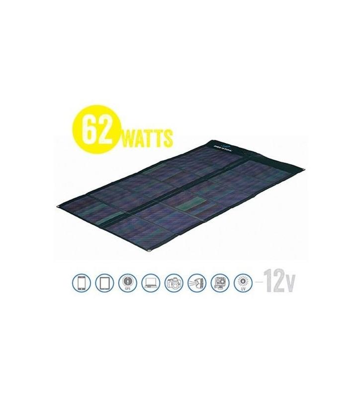 Solaris Foldable Solar Matrix Solar Panel 62 Cigs 62 Watt, 12V Brunton - 1