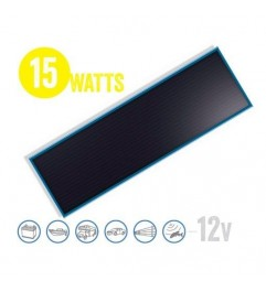 Flat Solar Panel Solarflat 15 Watt, 12V Brunton - 1