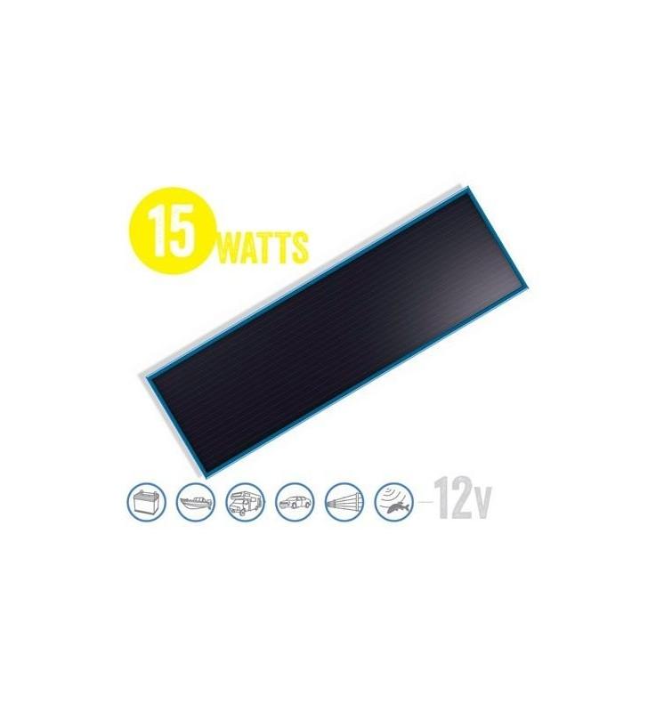 Panel Solar Plano Solarflat 15 Watt, 12V Brunton - 1