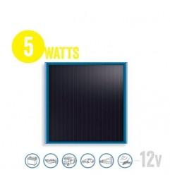 Panel Solar Plano Solarflat 5 Watt, 12V Brunton - 1