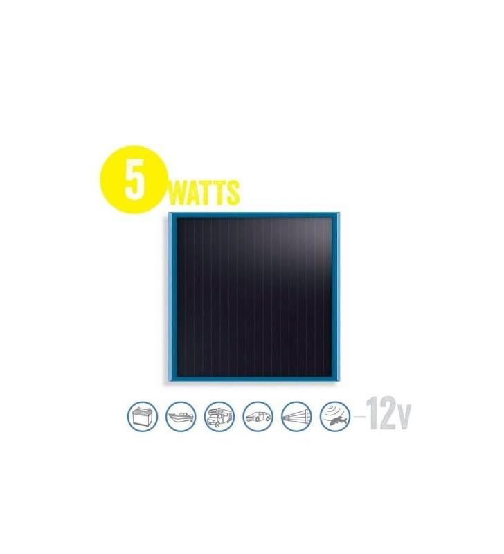 Flat Solar Panel Solarflat 5 Watt, 12V Brunton - 1