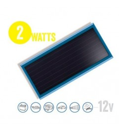 Flat Solar Panel Solarflat 2 Watt, 12V Brunton - 1