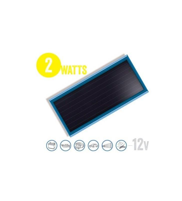 Panel Solar Plano Solarflat 2 Watt, 12V Brunton - 1