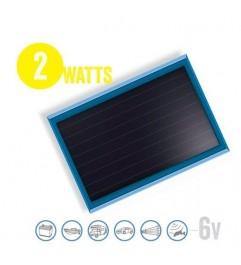 Panel Solar Plano Solarflat 2 Watt, 6V Brunton - 1
