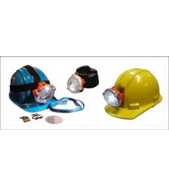 Lampara Minera NLT POLARIS para Casco Incluye Cargador NLT Technologies - 1