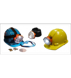 NLT POLARIS Mining Lamp for Helmet Includes Charger NLT Technologies - 1