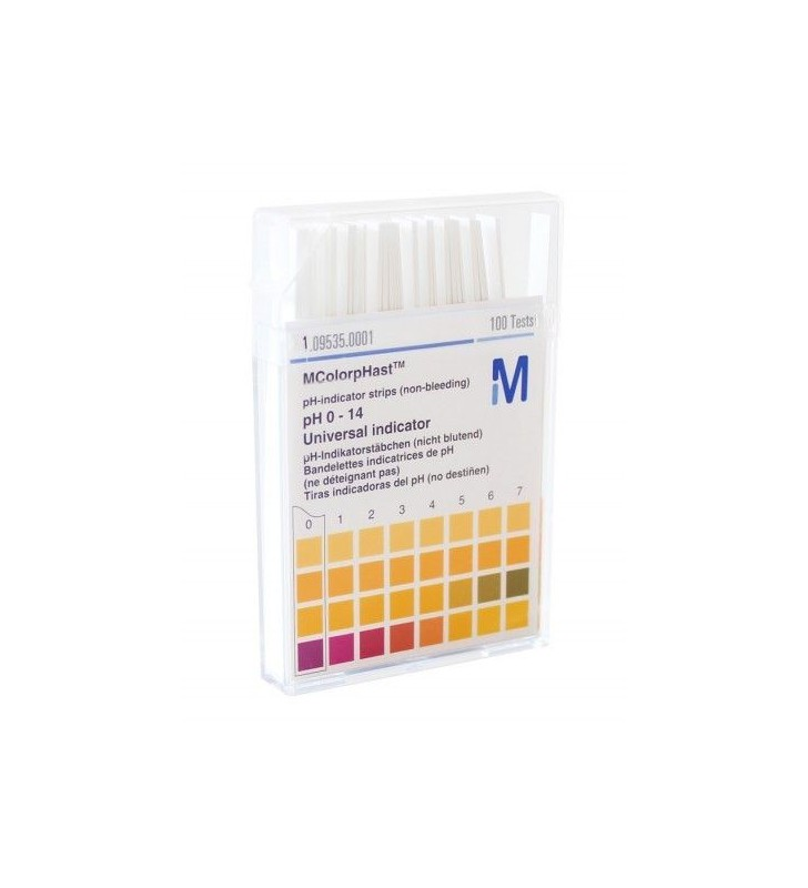 Strip PH Indicators Between 0 and 14 Container Per 100 UNDs  - 1