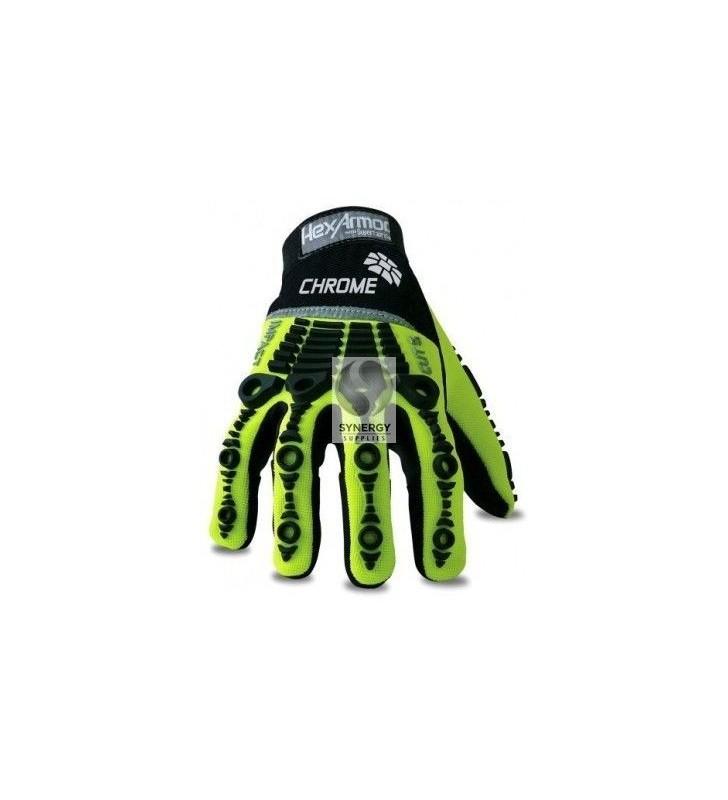Impact Protection Gloves Niv5 Cut Hexarmor Chrome Series 4036 Size 9 / L Hexarmor - 3