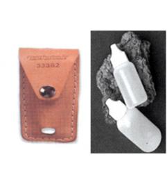 Porta Acidos En Cuero Con Gotero Synergy Supplies - 1