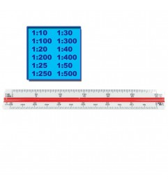 Escalimetro De 10 Centimetros Res TS-649 Synergy Supplies - 1