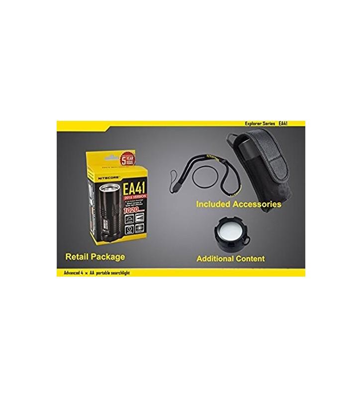 Nicored EA41 Black Flashlight Case Nitecore - 5