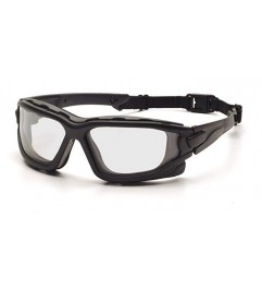 Glasses With Elastic Band Clear I-Force Lens With Double Elastic Anti-fog Lens And Impact Protection  - 1