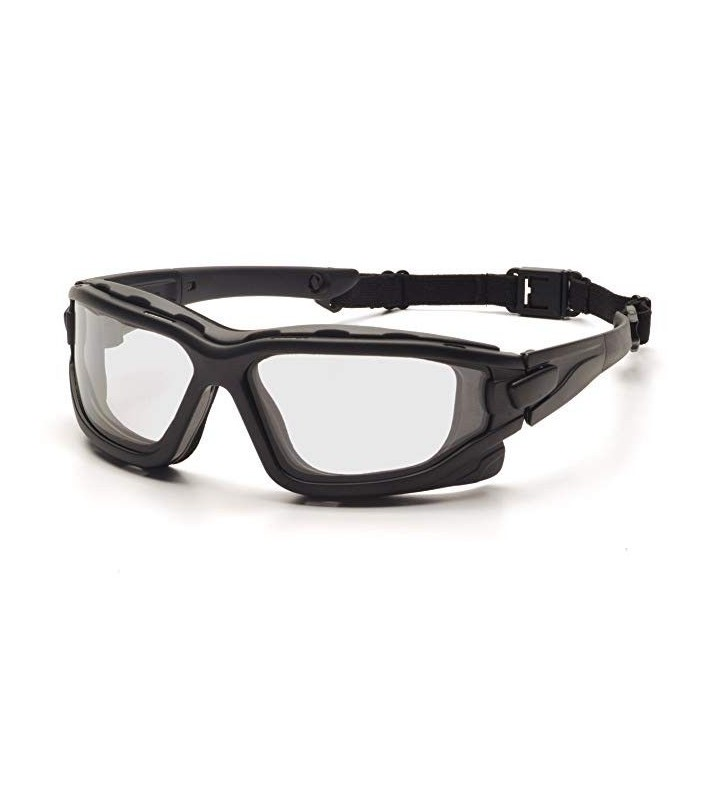 Glasses With Elastic Band Clear I-Force Lens With Double Elastic Anti-fog Lens And Impact Protection  - 6