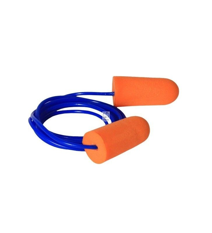 Hearing Protector Insertion With Cord Radians Cordon Silicone Red Ref JP3250ID Radians - 1