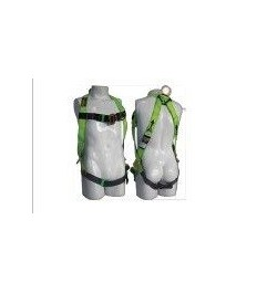 """Full Body Harness Eco """"H"""" Green Steelpro - 1"""