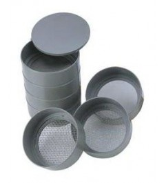 """Kit of 6 Sieves of 3 """" Synergy Supplies - 1"""