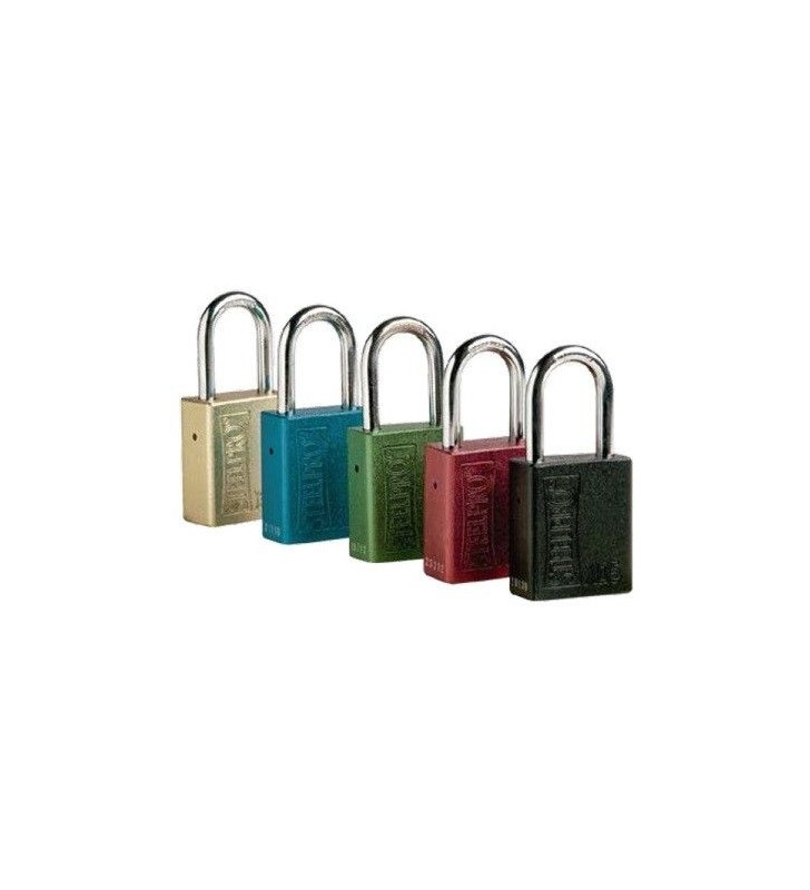 Industrial Lockout Padlock Colors Synergy Supplies - 1