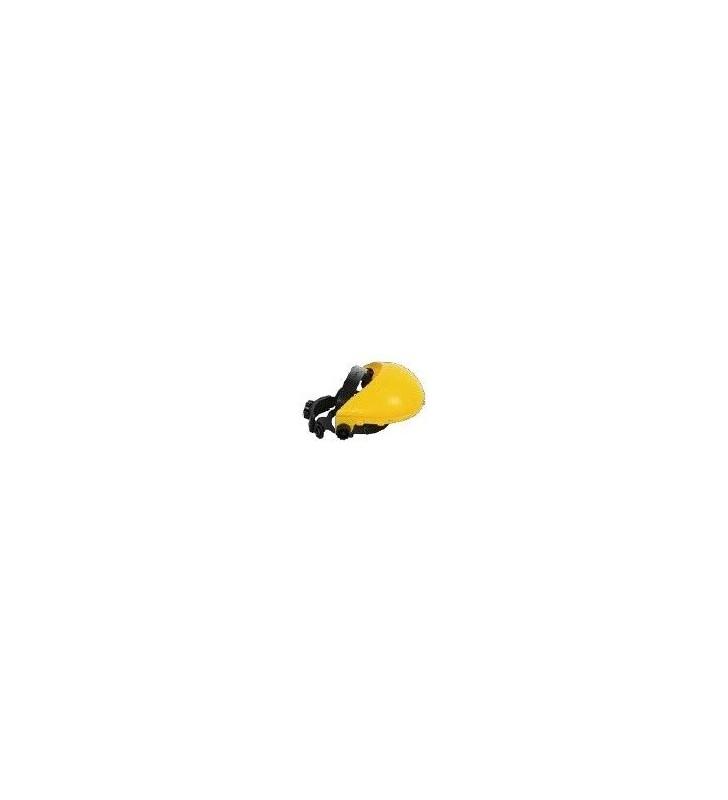 Yellow Visor Cap With Rachet Steelpro - 1