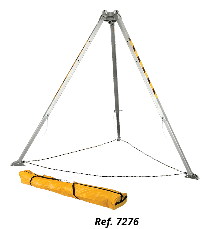 Tripod For Confined Spaces With Double Pulley System FallTech 7505 FallTech - 2