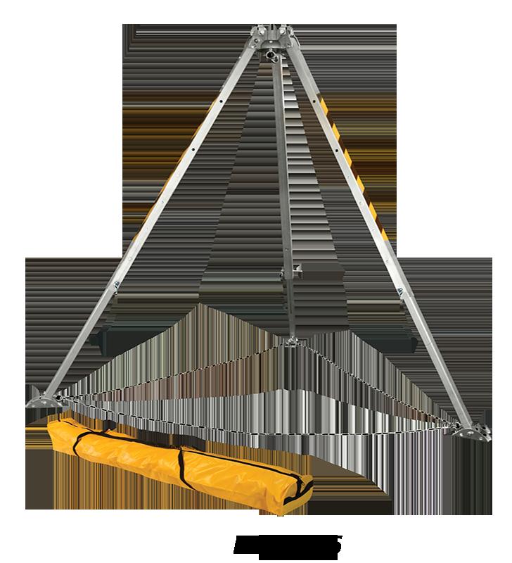 Trípode Para Espacios Confinados Con Sistema Doble Polea FallTech 7505 FallTech - 2