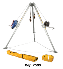 Tripod For Confined Spaces With Double Pulley System FallTech 7505 FallTech - 1