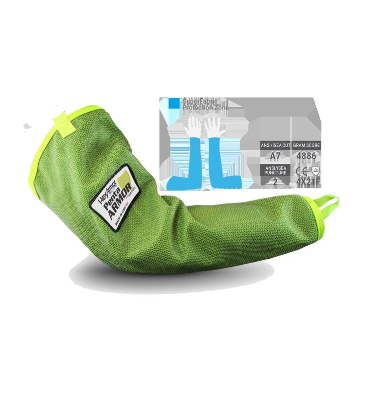 PentaArmor® 1010 Anti-Cut Sleeve for Arm Protection Hexarmor - 1