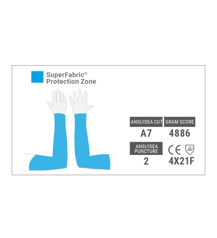 PentaArmor® 1010 Anti-Cut Sleeve for Arm Protection Hexarmor - 3