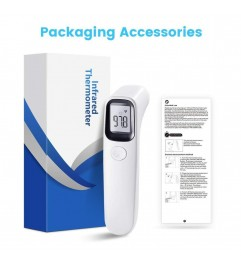 Infrared Thermometer For Non-Contact Body Temperature Control Synergy Supplies - 1