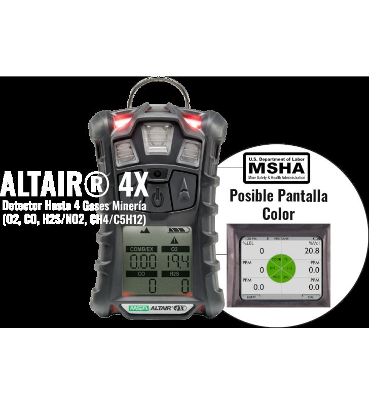 Altair 4X MSHA Mining 4 Gas Detectors MSA - 4