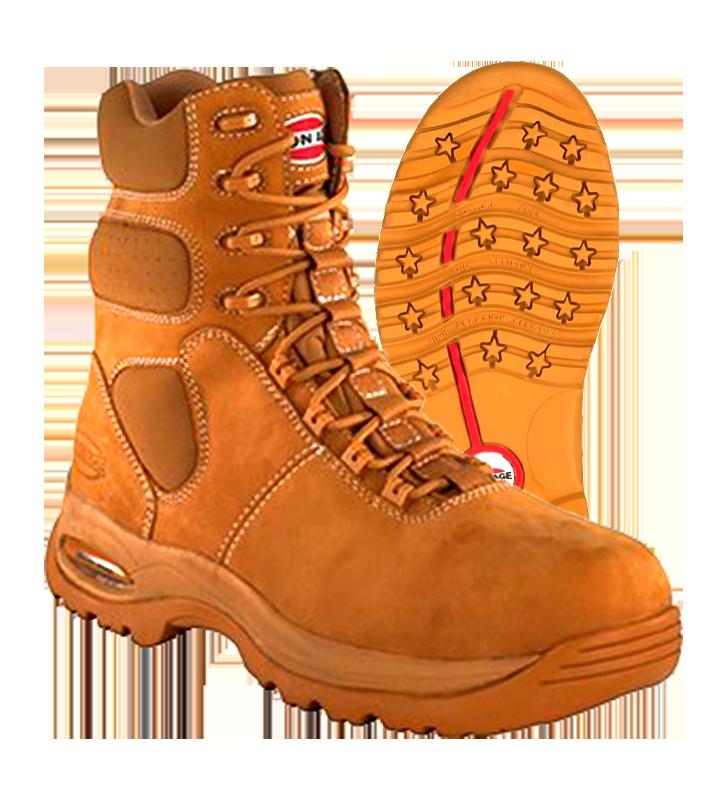 Iron Age Anti-Sprain Boots Converse Brand IA6900 Iron Age - 1