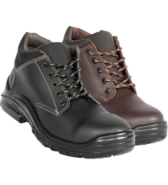 WIND SAFETY BOOT IN GREASE LEATHER BROWN OR BLACK 3025 3025 - 1