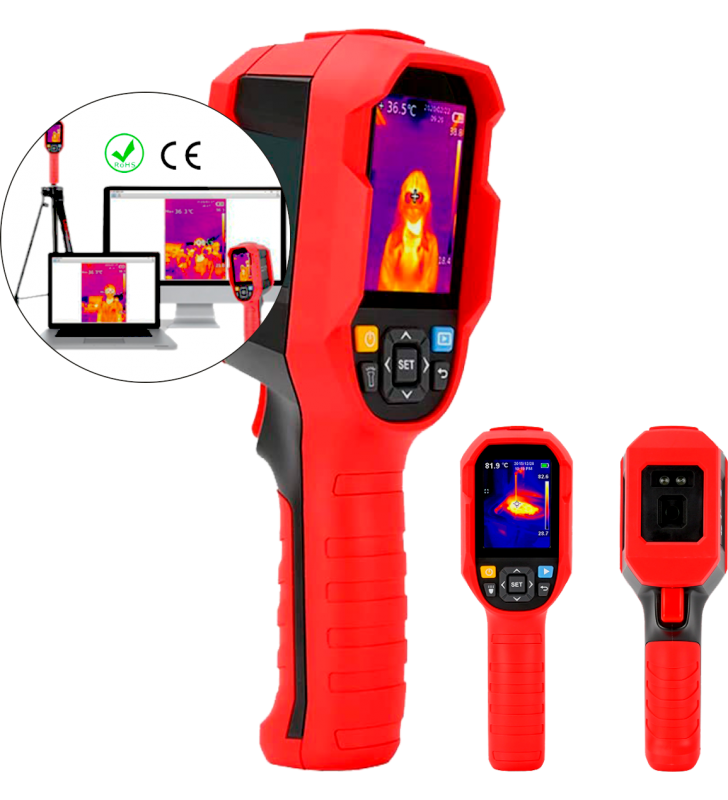 Thermal Cameras For Body Temperature Control In High Traffic Areas Synergy Supplies - 2