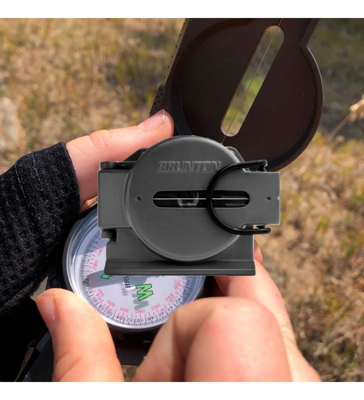 Brunton 9077 Military Compass Also Known As Lensmatics Brunton - 3
