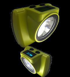 Lámpara Minera 18000 Luxes Anti-explosión Recargable Para Casco Synergy Supplies - 1