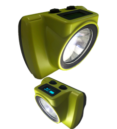 Mining Lamp 18000 Luxes Anti-explosion Rechargeable For Helmet Synergy Supplies - 1