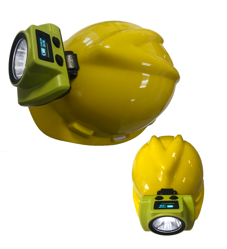 Mining Lamp 18000 Luxes Anti-explosion Rechargeable For Helmet Synergy Supplies - 2