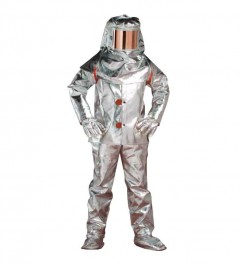 Aluminized Suits For Foundry 1000 ° C Synergy Supplies - 1