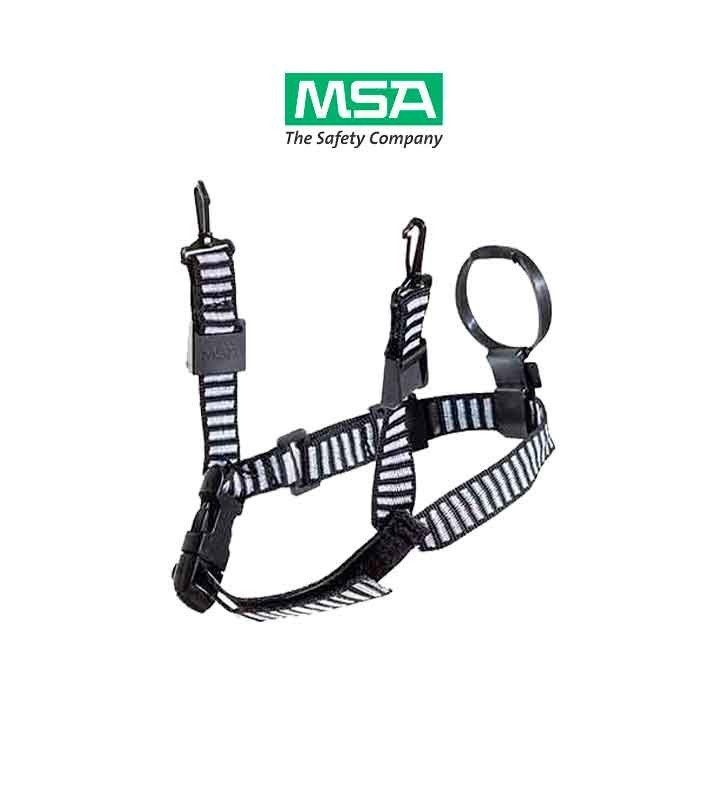 Chinstrap 3 - 4 Points Of Support With Chinstrap In Loop And Adjustment Buckles MSA - 2