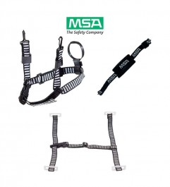 Chinstrap 3 - 4 Points Of Support With Chinstrap In Loop And Adjustment Buckles MSA - 1